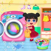 Mom Baby Clothes Washing Laundry 1.1