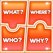 The 4Ws - What When Where Why Puzzle Game 1.0