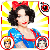Snow White Photo Stickers 1.0