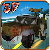 Zombie Highway Survival 3D