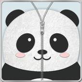 Panda Zipper Screen LockXEN StudiosPersonalization
