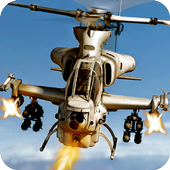Gunship Heli Strike War Game 1.1
