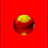 Rolling  Ball Red Sky 3D Game