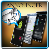 Call/SMS/Battery Announcer 1.0