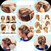 Step by step hair (female) 1.3.1
