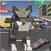 Pixel Kitten Cat Craft VS Dog VS Rat:Low MB Game 1.0