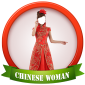 Cute Chinese Woman Photo Suit 1.0