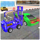 New City Police Parking Forklift Car Simulator 1.0