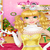 Merry Christmas Dress up Game For Girls 1.1