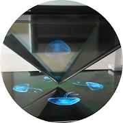 Hologram 3D Pyramid Projector 1.15