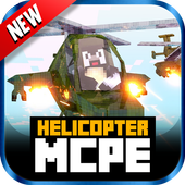 Helicopter MOD For MCPE 1.1