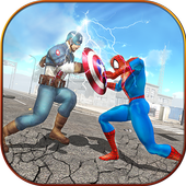 Super Spider Hero vs Captain USA Superhero Revenge 1.0