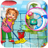 Sweet BabyGirl Princess Palace House Cleaning Game 1.0.0