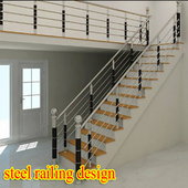 steel railing design 1.0
