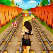 Girl Subway Rail Run 1.0