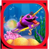 Super Skater Whale Run Game 1.0