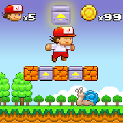 Super Jim Jump - pixel 3d 2.5.3909