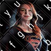 Super Girl Keyboard Theme 1.0