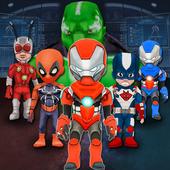 Superheroes Fighting Modern combat 1.0