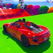 Superhero Car Racing Stunts Limits 1.0