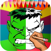 How to Draw Hulk Easy Step 2.0