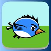 Swing Blue Bird