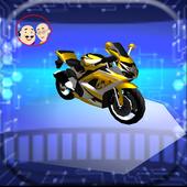 Motu 3D patlu Highway Rider 2