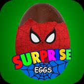 Surprise Eggs Spider 4.6