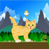cat running games