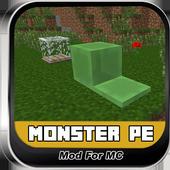 Monster PE Mods For MC 2.0