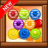 Candy Fruit Bubble Shooter 1.8