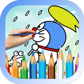 Blue Cat Coloring games free 1.3