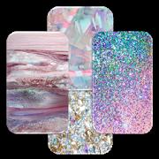 Girly Crystal Glitter Wall 1.6