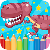 Dino Coloring Book Drawing Kidtaksina4bestCasual