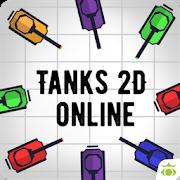 Tanks io 2D online 1.1
