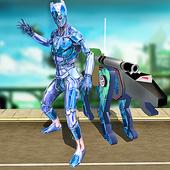 Multi Robot Panther Hero vs Robotic Villains 1.0