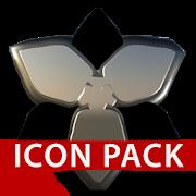 DUKE black silver 3D HD Icon Pack