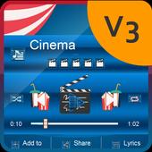 Cinema Music Player Skin 2.0.4 Muddy Green