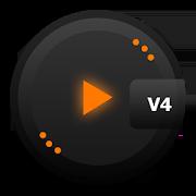 Skin for PlayerPro Crypto Orange 1.0