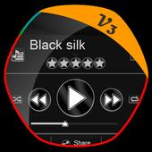 Black silk PlayerPro Skin 1.2