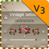 Vintage tattoo PlayerPro Skin 1.1