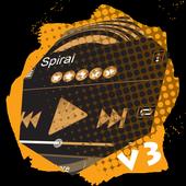 Spiral PlayerPro Skin 1.4 Bluey Purple
