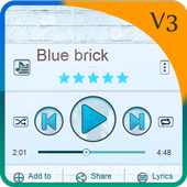 Blue brick PlayerPro Art 1.4