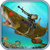 Underwater Robot Shark Hunting 2.0