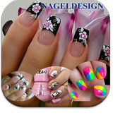 Nageldesign Tapeten 1.0