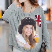 Girls T-Shirt Photo Frame 1.0