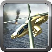 Stealth Gunship Helicopter Battle-War Commandor 1.7