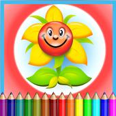 Flower Coloring Kids