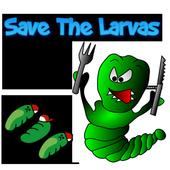 Tap Caterpillar Save The Larva 2.0