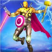 Grand Hybrid superhero: Flying Iron Mutant Hero 1.0.7